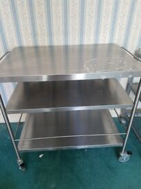 Ikea stainless steel trolley