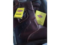 Brand new in box Dickies New Texan Safety rigger boots
