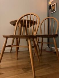 Vintage Ercol bistro set 2 chairs
