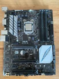 i5 6600k with asus z170-e motherboard