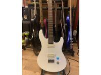 Yamaha RGX A2 - Electric Guitar RARE White/Grey - Superb + Pro Set up