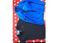 Boys tshirt next 12 and regatta coat