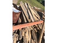 Free wood ideal for fire wood etc