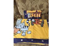 Bob Builder duvet set and large towel in great conditiin