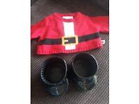 Build a bear Santa outfit clothes