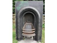 Original Victorian Arched Fireplace Insert