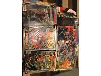 Marvel, DC comics and others.