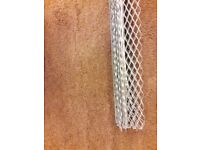 Wickes Galvanised Steel Anglebead 2.4m x 7 Pieces