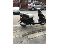 50cc scooter direct bike with mot till October 2018 good working one owner from new order