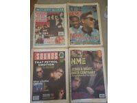 NME, Melody Maker & Sounds music papers from late 1980s & 1990s - 23 copies