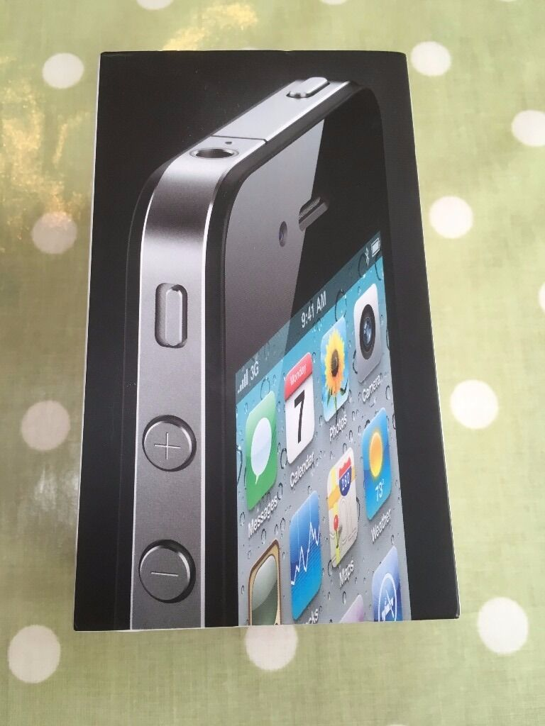 Iphone 4 16Gb Unlockedin Shrewsbury, ShropshireGumtree - Iphone 4, 16Gb, boxed with all accessories, headphones, pin, charger. In very good condition, there are no scratches, dings, dents, never been dropped. The home button needs a firm press, but everything works. Selling due to upgrade. Thanks for...