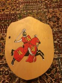 Toy Wooden Shield