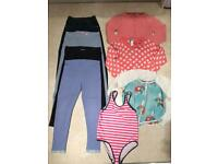 Girls Clothes Bundle-Leggings-Cardigans-Swimsuit *7-8 years*