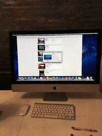 """Apple iMac 12,2. 27"""" 2.7GHz Intel core i5 4GB 1TB hard drive."""