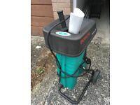 Garden Shredder (electric) - Bosch 1600HP AXT £50