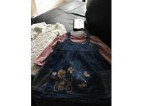 Baby girls clothes bundle 9-12 months, next & George