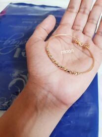 18K 18ct Yellow Gold Bracelet