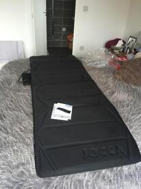 JOCCA full body massage mattress with soothing heat therapy, with remote control