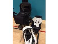 Travel system pram +buggy + car seat