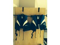 Two Children's Baltic safety buoyancy aids. 30-50kg £15 each