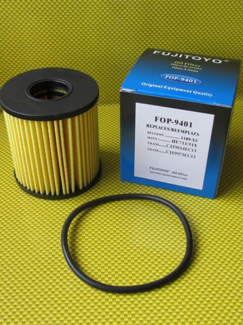 FT Peugeot 3008 1.6 THP MPV 2009-2012 Replacement Oil Filter