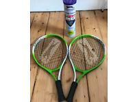 Slazenger Smash Junior Racket Set
