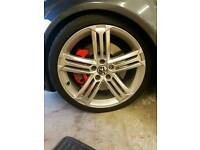 "5 Genuine 19"" Volkswagen mk6 golf r wheels"