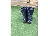 Mens RST Fusion Motorcycle boots - Size 11