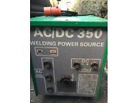 Welding power source