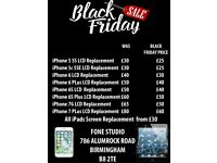 Black Friday Special Offer On Crack Broken Screen Fix Express 30 Minutes iPhone 7 6 6s 5 5s 4s Plus