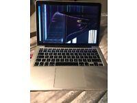 MacBook Pro 13 inch retina (broken screen)