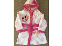 Minnie Mouse Girls Dressing Gown - 2-3 years