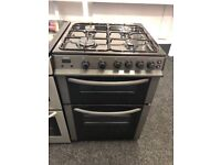 BUSH 60CM ALL GAS COOKER IN SILIVER