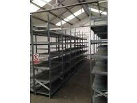 GALVENISED SUPERSHELF INDUSTRIAL SHELVING 2.1M HIGH ( PALLET RACKING , STORAGE)