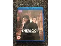 Sherlock blurays