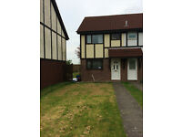 2 bedroom house available Brackla, near to shop, school bus routes, allocated parking