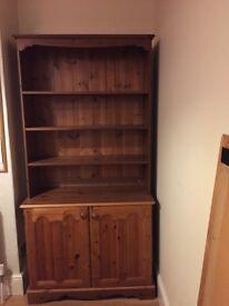 Wooden dresser (with inbuilt safe)