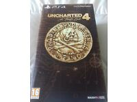 UNCHARTED 4 LIBERTALIA COLLECTORS EDITION NEW & SEALED / PAY-PAL