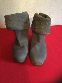 Ugg leather boots, never worn