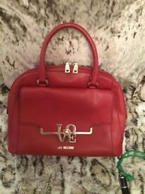 Red Moschino Bag
