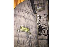 Barbour international bomber jacket