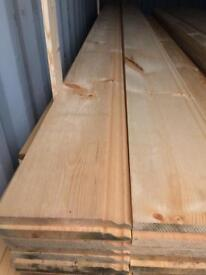 "New timber skirting board 9""x 16 ft"