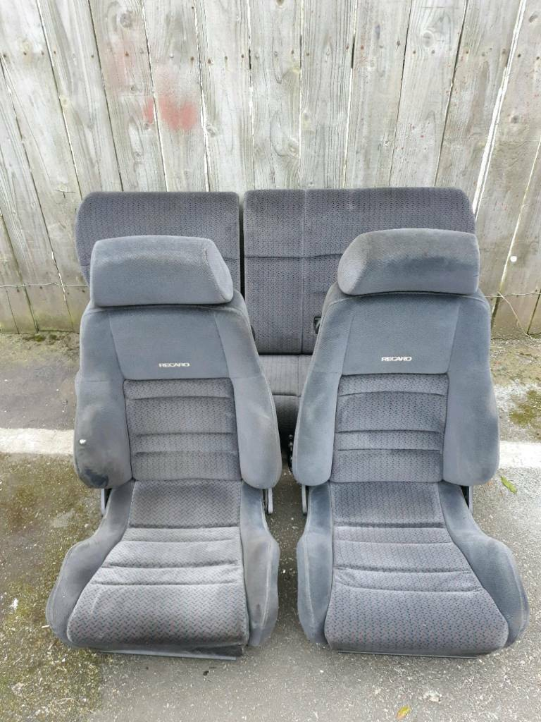ford recaro seats mk5 escort rs 2000 rs2000 trim seats ( xr3i orion ghia rs cosworth )