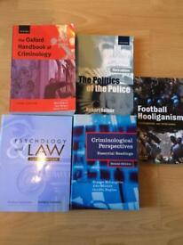 Criminology Books - Reduced