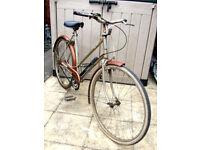 "Vintage 1970's 20"" Ladies Triumph Bike/Cycle 3 Speed Sturmey Archer Made In England"