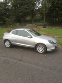 FORD PUMA (2001) VERY LOW MILEAGE, FULL MOT, GREAT LITTLE RUN AROUND.