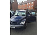 2001 Chrysler PT Cruiser 2.0 Limited 5dr. WAS INITIALLY ADVERTISED FOR £1999. BUT NOW £599. MUST GO