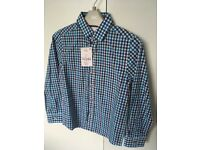 Boys smart checked shirt- from Next, Age 6