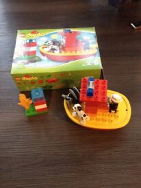 Lego Duplo Town Fire Boat 10591 with orginal box