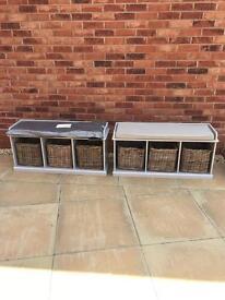 Storage Bench x 2